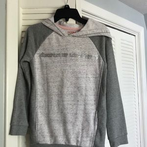 Girls gray hoodie with pockets
